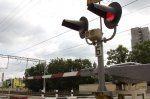 Нарушение правил на переезде Владикавказ